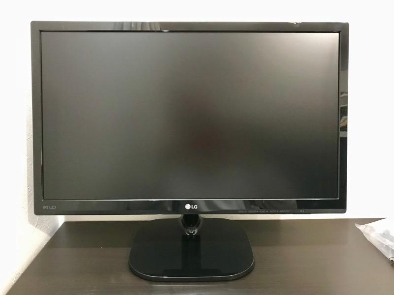 LGのモニターディスプレイ『21.5インチ 22MP48HQ-P』を買った