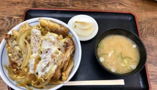 蕎麦屋のつくるカツ丼はだいたいうまいが経堂『増田屋』のカツ丼は頭一個抜けてうまい