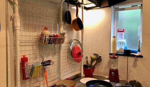 だいどころこうじⅠ:キッチン壁面編