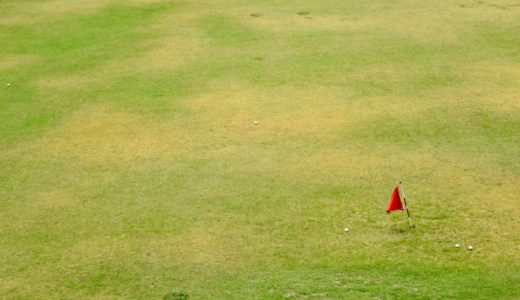 地元で生まれてはじめてのゴルフやってきた